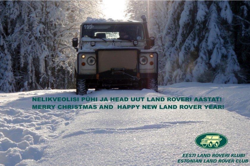 e4ab01f7c5a Jõulukaardid läbi aegade - Eesti Land Roveri Klubi