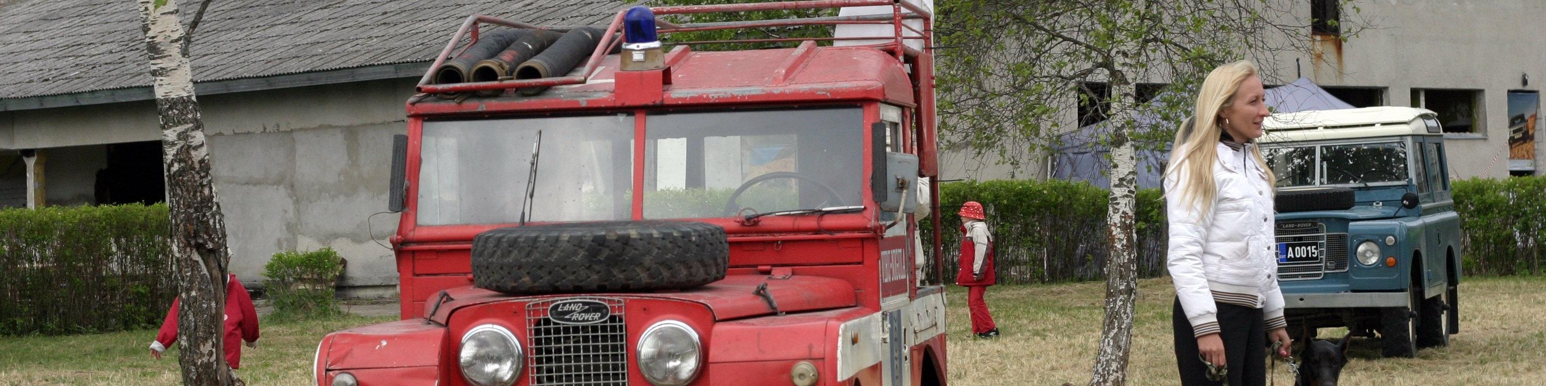 67df179860b Tuletõrjeauto taastamine - Eesti Land Roveri Klubi